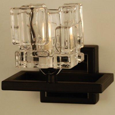 Citilux Айс CL223315 Светильник настенный браСовременные<br><br><br>S освещ. до, м2: 2<br>Тип лампы: галогенная / LED-светодиодная<br>Тип цоколя: G9<br>Количество ламп: 1<br>Ширина, мм: 135<br>MAX мощность ламп, Вт: 40<br>Расстояние от стены, мм: 130<br>Высота, мм: 140<br>Поверхность арматуры: матовый<br>Цвет арматуры: венге