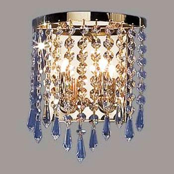 Citilux Капелла CL312421 Светильник настенный браХрустальные<br><br><br>S освещ. до, м2: 8<br>Тип лампы: галогенная / LED-светодиодная<br>Тип цоколя: G9<br>Количество ламп: 2<br>Ширина, мм: 175<br>MAX мощность ламп, Вт: 60<br>Размеры: Высота 22,5см, Ширина 17,5см, Глубина 7 см.<br>Высота, мм: 225<br>Поверхность арматуры: глянцевый<br>Цвет арматуры: золотой