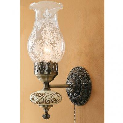 Citilux Лампада CL419311 Светильник настенный браПод заказ<br><br><br>S освещ. до, м2: 4<br>Крепление: настенное<br>Тип лампы: накаливания / энергосбережения / LED-светодиодная<br>Тип цоколя: E14<br>Количество ламп: 1<br>Ширина, мм: 120<br>MAX мощность ламп, Вт: 60<br>Размеры: Высота 33см, Ширина 12см, Глубина 16см, с выключателем<br>Расстояние от стены, мм: 160<br>Высота, мм: 330<br>Поверхность арматуры: глянцевый, рельефный<br>Цвет арматуры: бронзовый