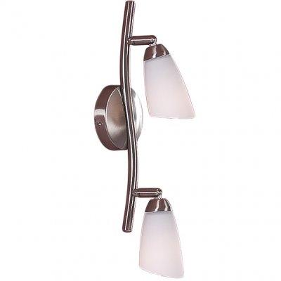 Citilux Белла CL501521 Светильник поворотный спотДвойные<br>Также рекомендуем посмотреть другие споты и трек-системы из серии Белла. Спот CL501521 Citilux - Дания из серии Белла - отличная возможность украсить любое пространство или помещение.<br><br>S освещ. до, м2: 8<br>Тип лампы: накал-я - энергосбер-я<br>Тип цоколя: E14<br>Количество ламп: 2<br>Ширина, мм: 440<br>MAX мощность ламп, Вт: 60<br>Размеры: Ширина 44см, Глубина 16см, Размер головки 13см.<br>Расстояние от стены, мм: 160<br>Поверхность арматуры: матовый<br>Цвет арматуры: серебристый