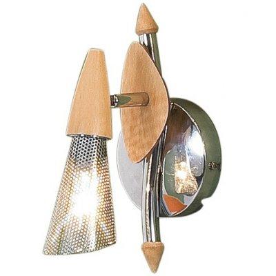 Светильник поворотный спот Citilux CL502511 Опусодиночные споты<br>Также рекомендуем посмотреть другие споты и трек-системы из серии Опус. Деревянный светильник CL502511 Ситилюкс - Дания из коллекции Опус - идеальная возможность улучшить любое пространство.