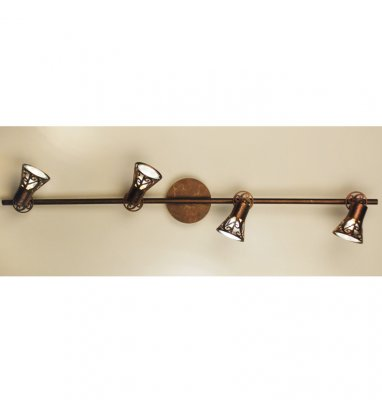 Citilux Винон CL519544 Светильник поворотный спотС 4 лампами<br><br><br>S освещ. до, м2: 13<br>Крепление: планка<br>Тип товара: Светильник поворотный спот<br>Тип лампы: галогенная / LED-светодиодная<br>Тип цоколя: GU10<br>Количество ламп: 4<br>MAX мощность ламп, Вт: 50<br>Размеры: Ширина 81,5 см. Глубина 15 см.<br>Длина, мм: 815<br>Высота, мм: 150<br>Поверхность арматуры: матовый<br>Цвет арматуры: бронзовый