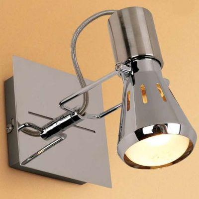 Citilux Марс CL527511 Светильник поворотный спотОдиночные<br>Светильники-споты – это оригинальные изделия с современным дизайном. Они позволяют не ограничивать свою фантазию при выборе освещения для интерьера. Такие модели обеспечивают достаточно качественный свет. Благодаря компактным размерам Вы можете использовать несколько спотов для одного помещения.  Интернет-магазин «Светодом» предлагает необычный светильник-спот Citilux CL527511 по привлекательной цене. Эта модель станет отличным дополнением к люстре, выполненной в том же стиле. Перед оформлением заказа изучите характеристики изделия.  Купить светильник-спот Citilux CL527511 в нашем онлайн-магазине Вы можете либо с помощью формы на сайте, либо по указанным выше телефонам. Обратите внимание, что у нас склады не только в Москве и Екатеринбурге, но и других городах России.<br><br>S освещ. до, м2: 2<br>Крепление: настенное<br>Тип лампы: зеркальная<br>Тип цоколя: R50(E14)<br>Количество ламп: 1<br>Ширина, мм: 100<br>MAX мощность ламп, Вт: 40<br>Размеры: Основание 10х10см, Размер головки 13см<br>Длина, мм: 100<br>Высота, мм: 130<br>Оттенок (цвет): белый<br>Цвет арматуры: серебристый хром