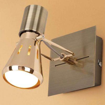 Citilux Марс CL527513 Светильник поворотный спотодиночные споты<br>Светильники-споты – это оригинальные изделия с современным дизайном. Они позволяют не ограничивать свою фантазию при выборе освещения для интерьера. Такие модели обеспечивают достаточно качественный свет. Благодаря компактным размерам Вы можете использовать несколько спотов для одного помещения.  Интернет-магазин «Светодом» предлагает необычный светильник-спот Citilux CL527513 по привлекательной цене. Эта модель станет отличным дополнением к люстре, выполненной в том же стиле. Перед оформлением заказа изучите характеристики изделия.  Купить светильник-спот Citilux CL527513 в нашем онлайн-магазине Вы можете либо с помощью формы на сайте, либо по указанным выше телефонам. Обратите внимание, что у нас склады не только в Москве и Екатеринбурге, но и других городах России.<br><br>S освещ. до, м2: 2<br>Крепление: настенное<br>Тип лампы: зеркальная<br>Тип цоколя: R50(E14)<br>Цвет арматуры: бронзовый<br>Количество ламп: 1<br>Ширина, мм: 100<br>Размеры: Основание 10х10см, Размер головки 13см<br>Длина, мм: 100<br>Высота, мм: 130<br>Поверхность арматуры: глянцевый<br>Оттенок (цвет): белый<br>MAX мощность ламп, Вт: 40