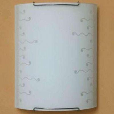 Citilux Ролл CL921026 Светильник настенный браНакладные<br><br><br>S освещ. до, м2: 6<br>Крепление: настенное<br>Тип лампы: накаливания / энергосбережения / LED-светодиодная<br>Тип цоколя: E27<br>Цвет арматуры: серебристый<br>Количество ламп: 1<br>Ширина, мм: 200<br>Размеры: Стеклянный рассеиватель, Высота 25см, Ширина 20см, Глубина 9см.<br>Расстояние от стены, мм: 90<br>Высота, мм: 250<br>Поверхность арматуры: глянцевый<br>Оттенок (цвет): белый<br>MAX мощность ламп, Вт: 100
