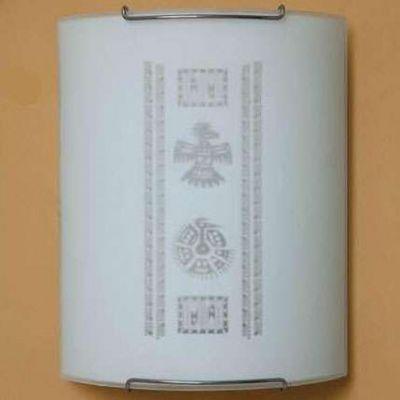 Citilux Майя CL921029 Светильник настенный браНакладные<br><br><br>S освещ. до, м2: 6<br>Крепление: настенное<br>Тип лампы: накаливания / энергосбережения / LED-светодиодная<br>Тип цоколя: E27<br>Количество ламп: 1<br>Ширина, мм: 200<br>MAX мощность ламп, Вт: 100<br>Размеры: Стеклянный рассеиватель, Высота 25см, Ширина 20см, Глубина 9см.<br>Расстояние от стены, мм: 90<br>Высота, мм: 250<br>Поверхность арматуры: глянцевый<br>Оттенок (цвет): белый<br>Цвет арматуры: серебристый