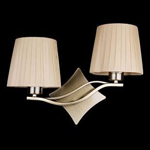 Светильник настенный бра Brizzi Cloe BB 03203/2 Bronze CreamСнято с производства<br><br><br>S освещ. до, м2: 8<br>Тип лампы: накал-я - энергосбер-я<br>Тип цоколя: E27<br>Количество ламп: 2<br>Ширина, мм: 420<br>MAX мощность ламп, Вт: 60<br>Размеры: W 420 H 280<br>Высота, мм: 280<br>Цвет арматуры: бронза