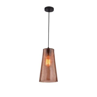 Светильник подвесной Iris Color  243/1-BrownОжидается<br><br><br>Крепление: Крепежная планка<br>Тип цоколя: E27<br>Цвет арматуры: Хром<br>Количество ламп: 1<br>Ширина, мм: 160<br>Длина, мм: 160<br>Высота, мм: 1000<br>Оттенок (цвет): Коричневый<br>MAX мощность ламп, Вт: 40
