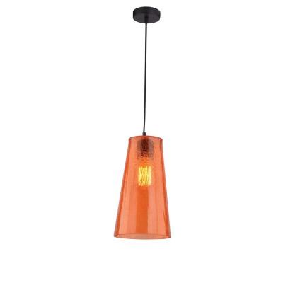 Светильник подвесной Iris Color  243/1-WhitegoldОжидается<br><br><br>Крепление: Крепежная планка<br>Тип цоколя: E27<br>Цвет арматуры: Хром<br>Количество ламп: 1<br>Ширина, мм: 160<br>Длина, мм: 160<br>Высота, мм: 1000<br>Оттенок (цвет): Оранжевый<br>MAX мощность ламп, Вт: 40