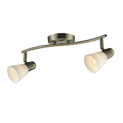 Светильник Colosseo 21601/2 POMPEIдвойные светильники споты<br>Светильники-споты – это оригинальные изделия с современным дизайном. Они позволяют не ограничивать свою фантазию при выборе освещения для интерьера. Такие модели обеспечивают достаточно качественный свет. Благодаря компактным размерам Вы можете использовать несколько спотов для одного помещения. <br>Интернет-магазин «Светодом» предлагает необычный светильник-спот Colosseo 21601/2 по привлекательной цене. Эта модель станет отличным дополнением к люстре, выполненной в том же стиле. Перед оформлением заказа изучите характеристики изделия. <br>Купить светильник-спот Colosseo 21601/2 в нашем онлайн-магазине Вы можете либо с помощью формы на сайте, либо по указанным выше телефонам. Обратите внимание, что у нас склады не только в Москве и Екатеринбурге, но и других городах России.<br><br>S освещ. до, м2: 6<br>Тип лампы: накаливания / энергосбережения / LED-светодиодная<br>Тип цоколя: E14<br>Цвет арматуры: бронзовый<br>Количество ламп: 2<br>Ширина, мм: 420<br>Диаметр, мм мм: 420<br>Длина, мм: 200<br>Высота, мм: 150<br>MAX мощность ламп, Вт: 60
