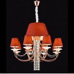Люстра Crystal Lamp D1488-8+4RE Hamilton