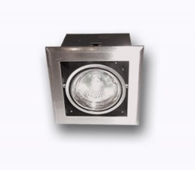Светильник галогенный DAR M39*1G 12v 50w MR16 сатин-никельКарданные<br>Светильник галогенный карданный DAR M39*1 G 12v 50w MR16 сатин-никель, с трансформатором и лампами в комплекте<br><br>S освещ. до, м2: 2 - 4<br>Тип лампы: галогенная MR16<br>Количество ламп: 1<br>Ширина, мм: 107<br>MAX мощность ламп, Вт: 50W<br>Диаметр врезного отверстия, мм: 90*90<br>Длина, мм: 107<br>Цвет арматуры: сатин-никель