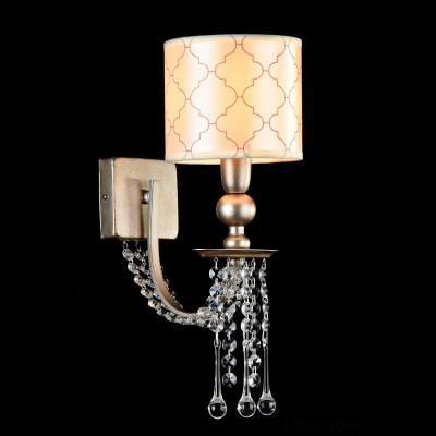 Бра Maytoni DIA018-01-NG BienceСовременные<br><br><br>Тип лампы: накаливания / энергосбережения / LED-светодиодная<br>Тип цоколя: E14<br>Количество ламп: 1<br>MAX мощность ламп, Вт: 40<br>Диаметр, мм мм: 140<br>Высота, мм: 370<br>Цвет арматуры: золотой
