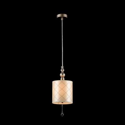 Подвес  Maytoni H018-PL-01-NG BienceОдиночные<br><br><br>Тип лампы: Накаливания / энергосбережения / светодиодная<br>Тип цоколя: E14<br>Цвет арматуры: Античное золото<br>Количество ламп: 1<br>Диаметр, мм мм: 150<br>Высота, мм: 370<br>MAX мощность ламп, Вт: 40