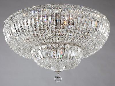 Люстра Maytoni DIA100-CL-16-N Diamant Basforхрустальные потолочные люстры<br>Немецкая компания Maytoni представляет вам удивительно красивую потолочную люстру по объективной стоимости. Только посмотрите на фото: стиль и дизайн устройства просто восхитительны. Плафон являет собой многоярусную, выпуклую конструкцию, густо усеянную прозрачными кристаллами. Финальный штрих потолочной люстры Maytoni DIA100-CL-16-N — прелестная хрустальная капля, повисшая в воздухе в самом центре изделия. Арматура потолочной люстры от Майтони выполнена в никелевом цвете, это делает общий вид устройства гармоничным и завершенным. Изделия данной фирмы славятся на весь мир фантастически красивым дизайном, надежным качеством и справедливой ценой. А значит, покупка данного товара будет для вас приятной и оправданной.<br><br>Установка на натяжной потолок: Да<br>S освещ. до, м2: 64<br>Крепление: планка<br>Тип лампы: накаливания / энергосбережения / LED-светодиодная<br>Тип цоколя: E14<br>Цвет арматуры: никель<br>Количество ламп: 16<br>Диаметр, мм мм: 605<br>Диаметр врезного отверстия, мм: 280<br>Высота, мм: 350<br>Поверхность арматуры: глянцевая<br>Оттенок (цвет): никель<br>MAX мощность ламп, Вт: 60