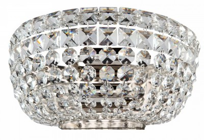 Светильник бра Maytoni DIA100-WL-02-N Diamant Basforхрустальные бра<br>Обратите внимание на фото хрустального бра Maytoni DIA100-WL-02-N от немецкого бренда Maytoni. Это стильное хрустальное бра изготовлено из качественных материалов с соблюдением европейских стандартов безопасности электроприборов. Оно состоит из скрепленных между собой хрустальных подвесок, создающих непередаваемую игру света в помещении. Крепится данное бра к потолку при помощи монтажной пластины, выполненной из никелированного металла. Компания Майтони является одним из лидеров по производству светильников в Европе, выпуская свою продукцию в различных ценовых сегментах. Поэтому купив данное бра по невысокой стоимости, вы можете быть уверены в его надёжности.<br><br>S освещ. до, м2: 8<br>Крепление: монтажная пластина<br>Тип лампы: накаливания / энергосбережения / LED-светодиодная<br>Тип цоколя: E14<br>Цвет арматуры: никель<br>Количество ламп: 2<br>Ширина, мм: 255<br>Высота, мм: 125<br>Поверхность арматуры: глянцевая<br>Оттенок (цвет): никель<br>MAX мощность ламп, Вт: 60
