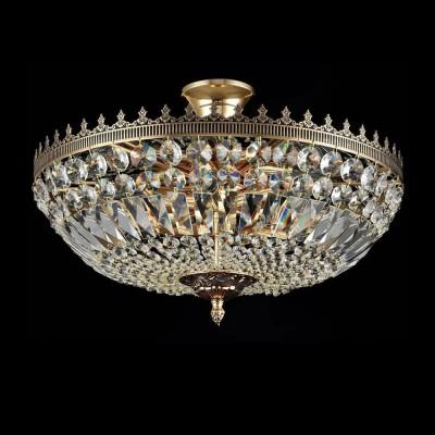 Люстра Maytoni DIA500-CL-40-06-G TiaraПотолочные<br><br><br>S освещ. до, м2: 18<br>Тип лампы: накаливания / энергосбережения / LED-светодиодная<br>Тип цоколя: E14<br>Цвет арматуры: золотой<br>Количество ламп: 6<br>Диаметр, мм мм: 455<br>Оттенок (цвет): золотой<br>MAX мощность ламп, Вт: 60