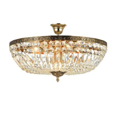 Люстра Maytoni DIA500-CL-50-06-G TiaraПотолочные<br><br><br>S освещ. до, м2: 27<br>Тип лампы: накаливания / энергосбережения / LED-светодиодная<br>Тип цоколя: E14<br>Цвет арматуры: золотой<br>Количество ламп: 9<br>Диаметр, мм мм: 545<br>Оттенок (цвет): золотой<br>MAX мощность ламп, Вт: 60