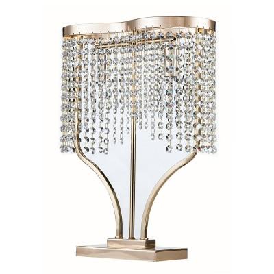 Настольная лампа Maytoni DIA600-22-G ToilsХрустальные<br>Настольная лампа – это не просто источник дополнительного освещения, но и оригинальный элемент декора. Его можно установить в спальне, гостиной, кабинете и других комнатах. Интернет-магазин «Светодом» предлагает настольные лампы разных стилей по доступным ценам. Благодаря большому ассортименту Вы обязательно найдете в нашем каталоге именно ту модель, которую искали. <br> Настольная лампа Maytoni DIA600-22-G – прекрасный вариант для завершения интерьера. Ее можно включить одновременно с люстрой для более яркого освещения или без нее для создания уютной атмосферы, настраивающей на отдых. <br> Купить настольную лампу Maytoni DIA600-22-G Вы можете с помощью виртуальной «Корзины» или по контактным номерам, указанным на сайте.<br><br>Тип лампы: накаливания / энергосбережения / LED-светодиодная<br>Тип цоколя: E14<br>Цвет арматуры: золотой<br>Количество ламп: 2<br>Диаметр, мм мм: 350<br>Высота, мм: 460<br>MAX мощность ламп, Вт: 60