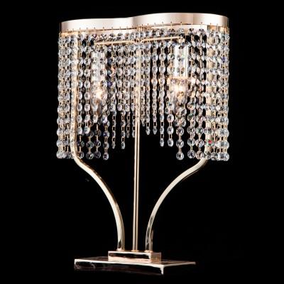 Настольная лампа Maytoni DIA600-22-G ToilsХрустальные<br>Настольная лампа – это не просто источник дополнительного освещения, но и оригинальный элемент декора. Его можно установить в спальне, гостиной, кабинете и других комнатах. Интернет-магазин «Светодом» предлагает настольные лампы разных стилей по доступным ценам. Благодаря большому ассортименту Вы обязательно найдете в нашем каталоге именно ту модель, которую искали.   Настольная лампа Maytoni DIA600-22-G – прекрасный вариант для завершения интерьера. Ее можно включить одновременно с люстрой для более яркого освещения или без нее для создания уютной атмосферы, настраивающей на отдых.   Купить настольную лампу Maytoni DIA600-22-G Вы можете с помощью виртуальной «Корзины» или по контактным номерам, указанным на сайте.<br><br>Тип товара: Настольная лампа<br>Скидка, %: 28<br>Тип лампы: накаливания / энергосбережения / LED-светодиодная<br>Тип цоколя: E14<br>Количество ламп: 2<br>MAX мощность ламп, Вт: 60<br>Диаметр, мм мм: 350<br>Высота, мм: 460<br>Цвет арматуры: золотой