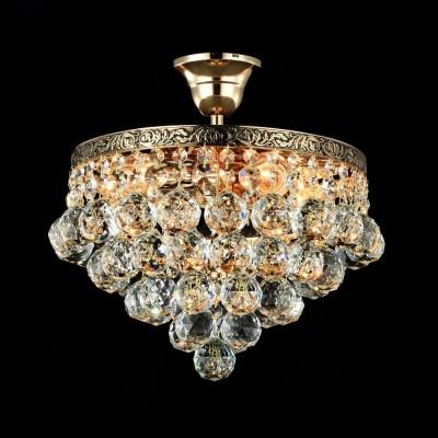 Люстра Maytoni DIA783-CL-04-G GalaПотолочные<br><br><br>Тип лампы: Накаливания / энергосбережения / светодиодная<br>Тип цоколя: E27<br>Количество ламп: 4<br>MAX мощность ламп, Вт: 60<br>Диаметр, мм мм: 300<br>Высота, мм: 330<br>Цвет арматуры: золотой