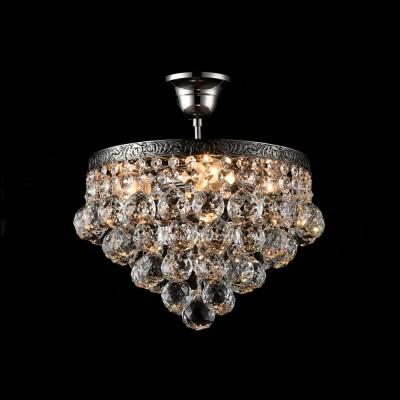Люстра Maytoni DIA783-CL-04-N GalaПотолочные<br><br><br>S освещ. до, м2: 12<br>Тип лампы: Накаливания / энергосбережения / светодиодная<br>Тип цоколя: E27<br>Цвет арматуры: серебристый никель<br>Количество ламп: 4<br>Диаметр, мм мм: 300<br>Высота, мм: 330<br>MAX мощность ламп, Вт: 60
