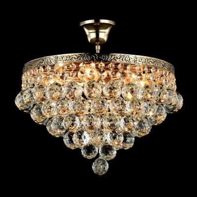 Люстра Maytoni DIA783-CL38-6-G GalaПотолочные<br><br><br>S освещ. до, м2: 18<br>Тип лампы: Накаливания / энергосбережения / светодиодная<br>Тип цоколя: E27<br>Цвет арматуры: золотой<br>Количество ламп: 6<br>Диаметр, мм мм: 380<br>Высота, мм: 380<br>MAX мощность ламп, Вт: 60