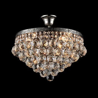 Люстра Maytoni DIA783-CL38-6-N GalaПотолочные<br><br><br>S освещ. до, м2: 18<br>Тип лампы: Накаливания / энергосбережения / светодиодная<br>Тип цоколя: E27<br>Цвет арматуры: серебристый никель<br>Количество ламп: 6<br>Ширина, мм: 380<br>Диаметр, мм мм: 380<br>MAX мощность ламп, Вт: 60