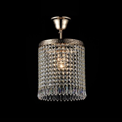 Люстра Maytoni DIA784-CL-01-G Sferaхрустальные потолочные люстры<br><br><br>S освещ. до, м2: 3<br>Тип лампы: Накаливания / энергосбережения / светодиодная<br>Тип цоколя: E27<br>Цвет арматуры: золотой<br>Количество ламп: 1<br>Диаметр, мм мм: 200<br>Высота, мм: 375 - 1401<br>MAX мощность ламп, Вт: 60