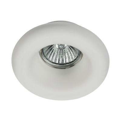 Встроенный светильник  Maytoni DL006-1-01-W GypsГипсовые<br><br><br>Тип лампы: галогенная/LED<br>Тип цоколя: GU10<br>Цвет арматуры: Белый<br>Количество ламп: 1<br>Диаметр, мм мм: 110<br>Высота, мм: 42<br>MAX мощность ламп, Вт: 35