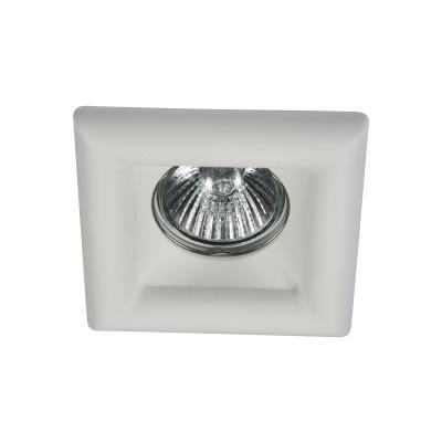 Встроенный светильник  Maytoni DL007-1-01-W GypsГипсовые<br><br><br>Тип лампы: галогенная/LED<br>Тип цоколя: GU10<br>Цвет арматуры: Белый<br>Количество ламп: 1<br>Ширина, мм: 95<br>Глубина, мм: 95<br>Высота, мм: 26<br>MAX мощность ламп, Вт: 35