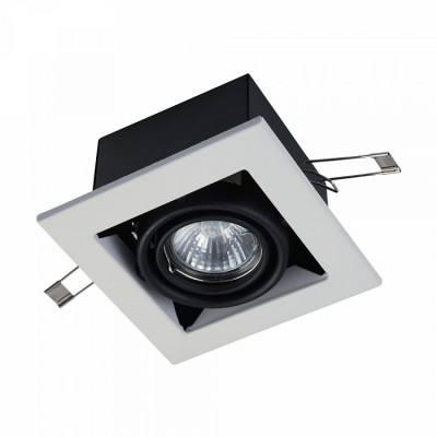 Встроенный светильник Maytoni DL008-2-01-W Metal фото