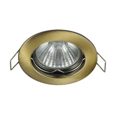 Встроенный светильник  Maytoni DL009-2-01-BZ MetalМеталлические<br><br><br>Тип лампы: галогенная/LED<br>Тип цоколя: GU10<br>Цвет арматуры: Латунь<br>Количество ламп: 1<br>Диаметр, мм мм: 78<br>Высота, мм: 24<br>MAX мощность ламп, Вт: 50