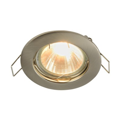 Встроенный светильник  Maytoni DL009-2-01-N MetalМеталлические<br><br><br>Тип лампы: галогенная/LED<br>Тип цоколя: GU10<br>Цвет арматуры: никель серебристый<br>Количество ламп: 1<br>Диаметр, мм мм: 78<br>Высота, мм: 24<br>MAX мощность ламп, Вт: 50
