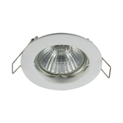 Встроенный светильник  Maytoni DL009-2-01-W MetalМеталлические<br><br><br>Тип лампы: галогенная/LED<br>Тип цоколя: GU10<br>Цвет арматуры: Белый<br>Количество ламп: 1<br>Диаметр, мм мм: 78<br>Высота, мм: 24<br>MAX мощность ламп, Вт: 50