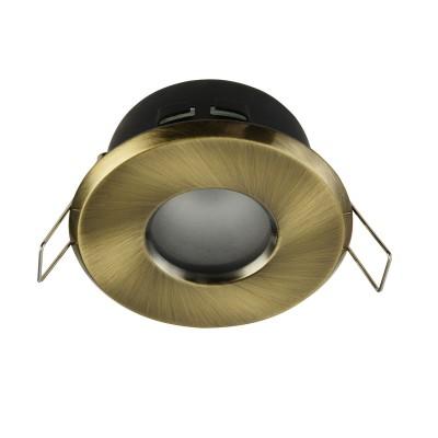 Встроенный светильник  Maytoni DL010-3-01-BZ MetalКруглые<br><br><br>Тип цоколя: GU10<br>Цвет арматуры: Латунь<br>Количество ламп: 1<br>Диаметр, мм мм: 84<br>Высота, мм: 55<br>MAX мощность ламп, Вт: 50