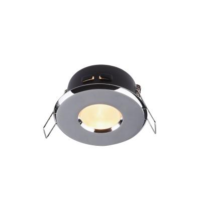 Встроенный светильник  Maytoni DL010-3-01-CH MetalМеталлические потолочные светильники<br><br><br>Тип лампы: галогенная/LED<br>Тип цоколя: GU10<br>Цвет арматуры: Хром серебристый<br>Количество ламп: 1<br>Диаметр, мм мм: 84<br>Высота, мм: 55<br>MAX мощность ламп, Вт: 50
