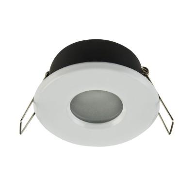 Встроенный светильник  Maytoni DL010-3-01-W MetalКруглые<br><br><br>Тип цоколя: GU10<br>Цвет арматуры: Белый<br>Количество ламп: 1<br>Диаметр, мм мм: 84<br>Высота, мм: 55<br>MAX мощность ламп, Вт: 50