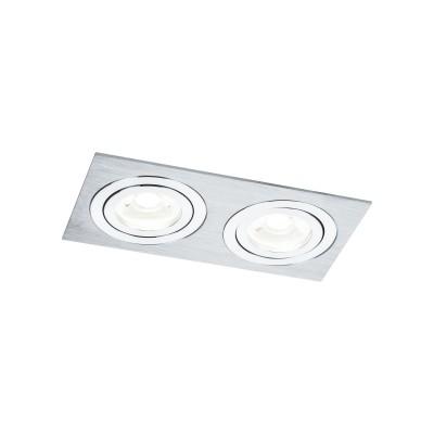 Светильник Maytoni DL024-2-02Sметаллические встраиваемые светильники<br>Светильник Maytoni DL024-2-02S на протяжении многих лет притягивает к себе искушенных дизайнеров и клиентов, обустраивающих квартиру или загородный дом, а также офисные или общественные места. Благодаря эстетической тонкости и технической проработанности германская модель DL024-2-02S популярна в онлайн продажах на сайте и в наших земных магазинах сети Светодом.