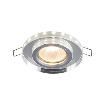 Встроенный светильник  Maytoni DL287-2-3W-W MetalКруглые<br><br><br>Тип лампы: галогенная/LED<br>Тип цоколя: GU10<br>Цвет арматуры: Белый<br>Количество ламп: 1<br>Диаметр, мм мм: 90<br>Высота, мм: 23<br>MAX мощность ламп, Вт: 50