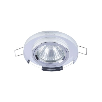 Встроенный светильник  Maytoni DL289-2-01-W MetalСтеклянные<br><br><br>Тип лампы: галогенная/LED<br>Тип цоколя: GU10<br>Цвет арматуры: Белый<br>Количество ламп: 1<br>Диаметр, мм мм: 90<br>Высота, мм: 23<br>MAX мощность ламп, Вт: 50