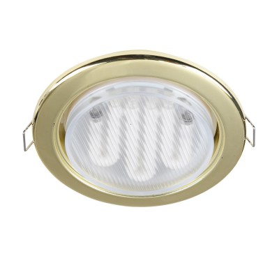 Встроенный светильник  Maytoni DL293-01-G MetalКруглые<br><br><br>Тип цоколя: GX53<br>Цвет арматуры: золотой<br>Количество ламп: 1<br>Диаметр, мм мм: 107<br>Высота, мм: 44<br>MAX мощность ламп, Вт: 15