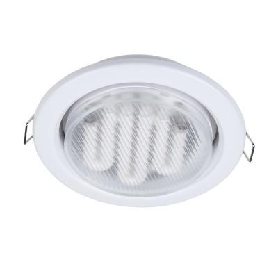 Встроенный светильник  Maytoni DL293-01-W MetalКруглые встраиваемые светильники<br><br><br>Тип цоколя: GX53<br>Цвет арматуры: Белый<br>Количество ламп: 1<br>Диаметр, мм мм: 107<br>Высота, мм: 44<br>MAX мощность ламп, Вт: 15