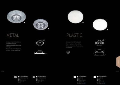 Встроенный светильник  Maytoni DL296-6-6W-W PlasticОжидается<br><br><br>Тип цоколя: LED 360 LM<br>Цвет арматуры: Белый перфорация<br>Количество ламп: 1<br>Диаметр, мм мм: 111<br>Высота, мм: 56<br>MAX мощность ламп, Вт: 6