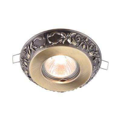 Встроенный светильник  Maytoni DL300-2-01-BS MetalМеталлические<br><br><br>Тип лампы: галогенная/LED