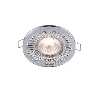 Встроенный светильник  Maytoni DL301-2-01-CH MetalМеталлические<br><br><br>Тип лампы: галогенная/LED