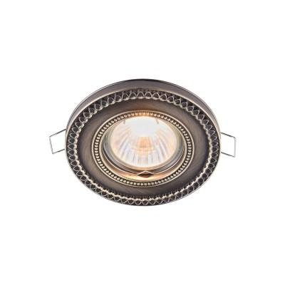 Купить со скидкой Встроенный светильник Maytoni DL302-2-01-BS Metal