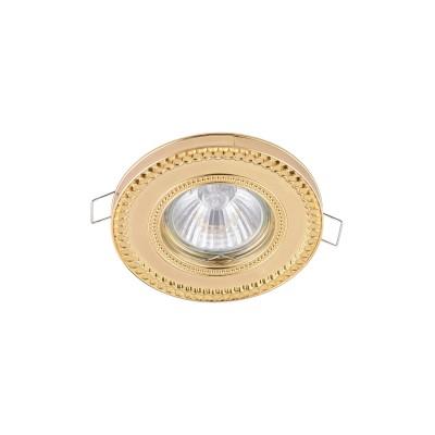 Встроенный светильник  Maytoni DL302-2-01-G MetalМеталлические<br><br>