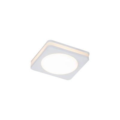 Светильник потолочный диодный 7Вт Maytoni DL303-L7WКвадратные встраиваемые светильники<br>Компания «Светодом» предлагает широкий ассортимент люстр от известных производителей. Представленные в нашем каталоге товары выполнены из современных материалов и обладают отличным качеством. Благодаря широкому ассортименту Вы сможете найти у нас люстру под любой интерьер. Мы предлагаем как классические варианты, так и современные модели, отличающиеся лаконичностью и простотой форм.