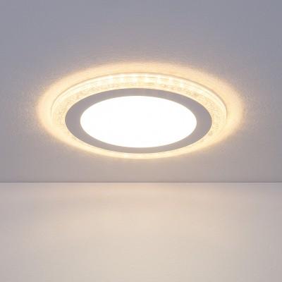 DLR024 18W 4200KКруглые встраиваемые светильники<br>Компания «Светодом» предлагает широкий ассортимент люстр от известных производителей. Представленные в нашем каталоге товары выполнены из современных материалов и обладают отличным качеством. Благодаря широкому ассортименту Вы сможете найти у нас люстру под любой интерьер. Мы предлагаем как классические варианты, так и современные модели, отличающиеся лаконичностью и простотой форм.<br><br>Цветовая t, К: 4200<br>Тип лампы: LED<br>Цвет арматуры: белая<br>Количество ламп: 60+40<br>Диаметр, мм мм: 195<br>Диаметр врезного отверстия, мм: 170<br>Высота, мм: 30<br>Поверхность арматуры: матовая<br>Оттенок (цвет): белый<br>MAX мощность ламп, Вт: 12+6 Вт